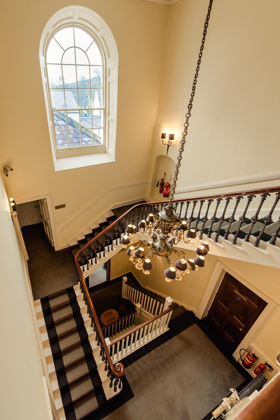 Tulfarris Hotel - Manor House Staircase