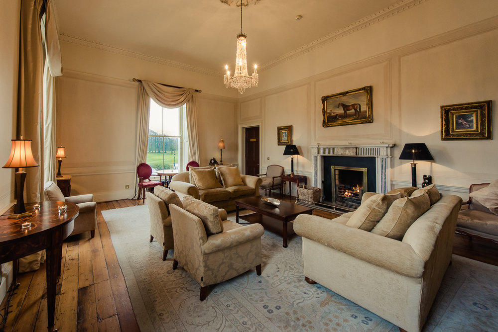 Tulfarris Manor House Front Room