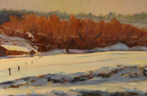Snow Scene I