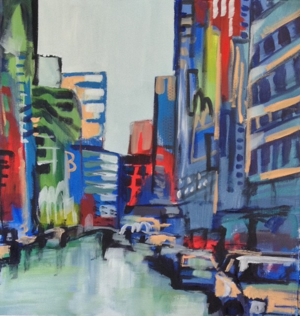 City Streets IV 30 x 30