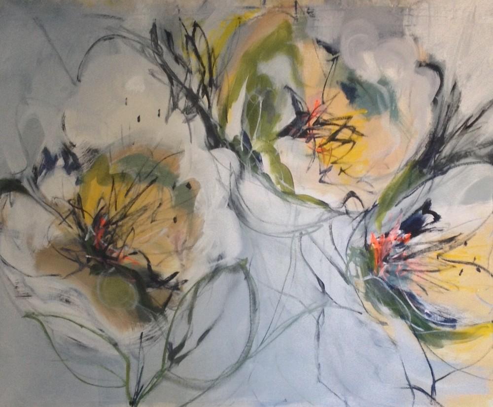 August Blooms II 30 x 40