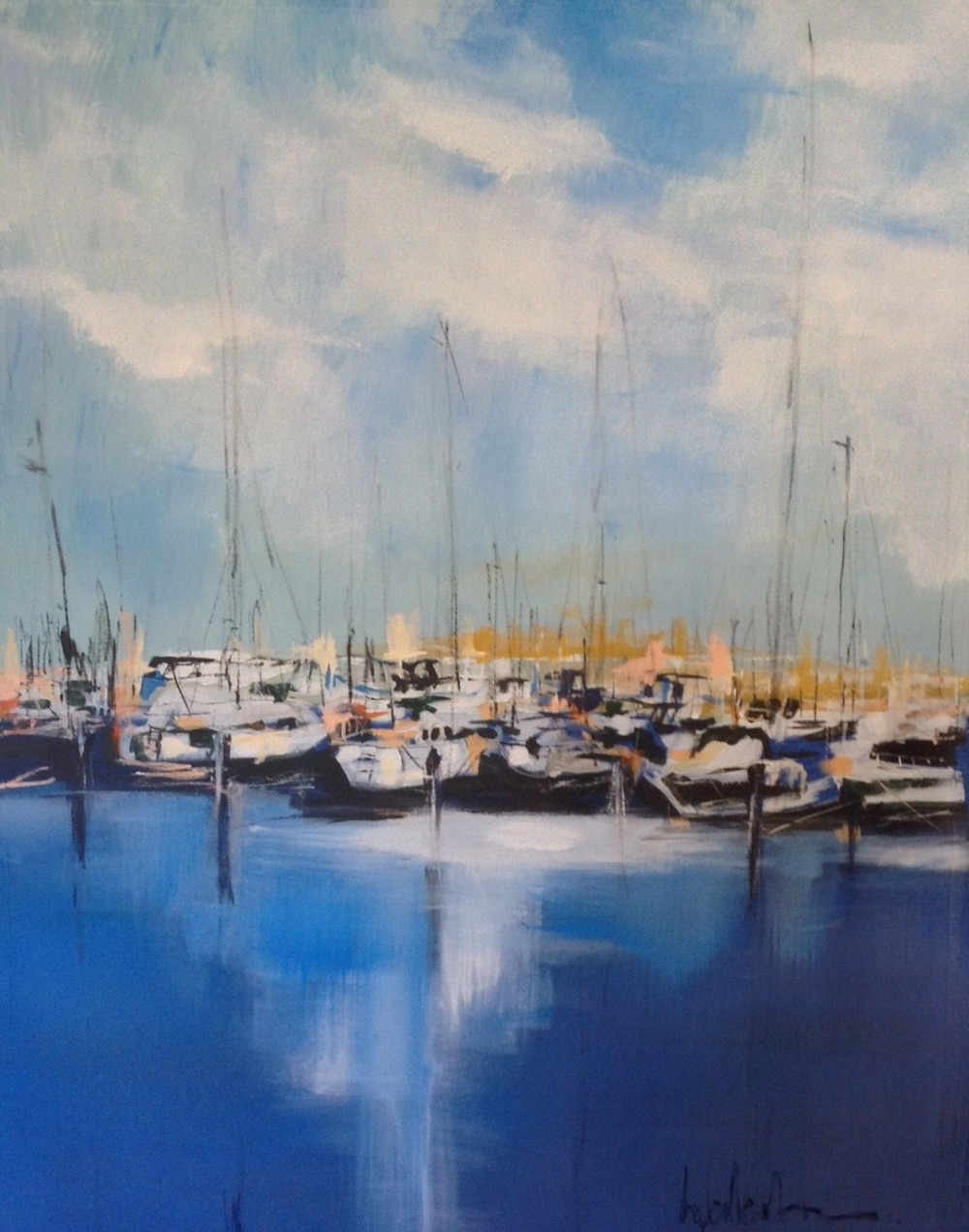 Harbour Waters II 40 x 30