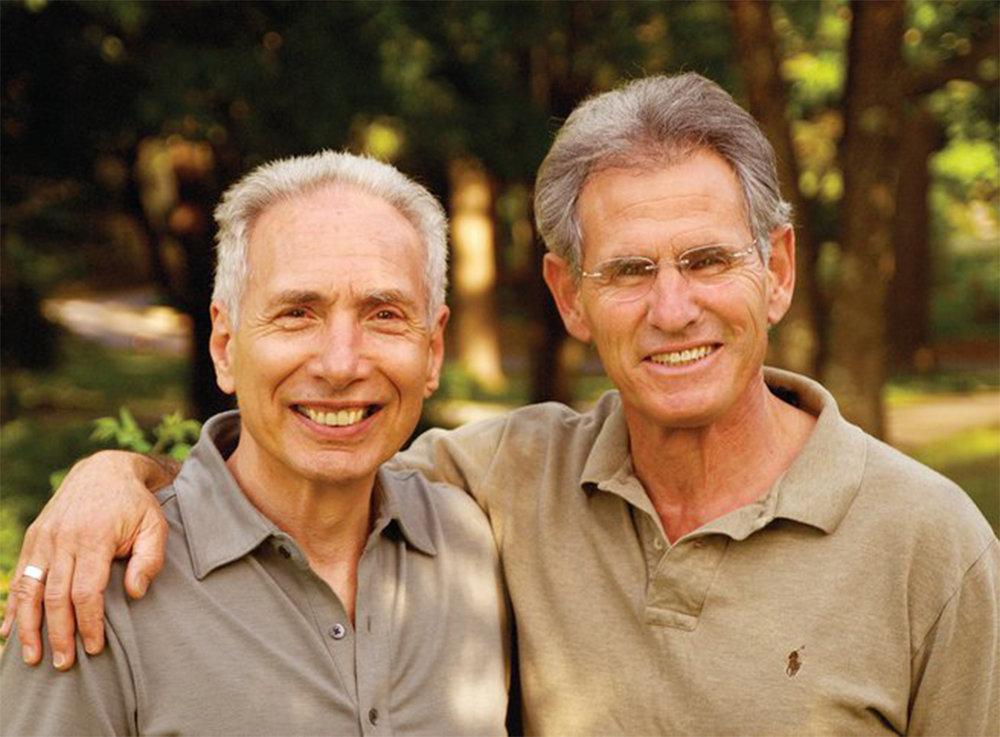Saki Santorelli og Jon Kabat-Zinn, som siden 1979 har arbejdet med udbredelse af kendskabet til MBSR