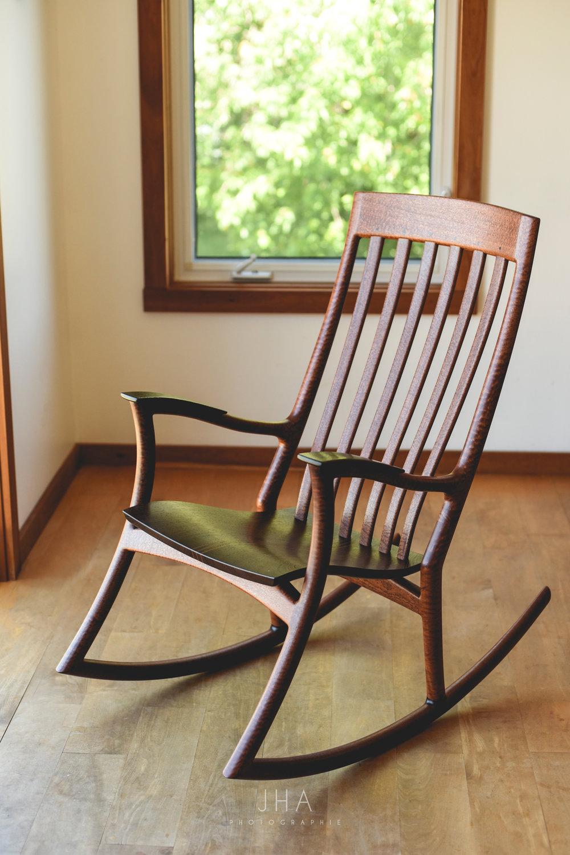 Chaises Crac | Chaises berçantes en bois | Wooden rocking chairs