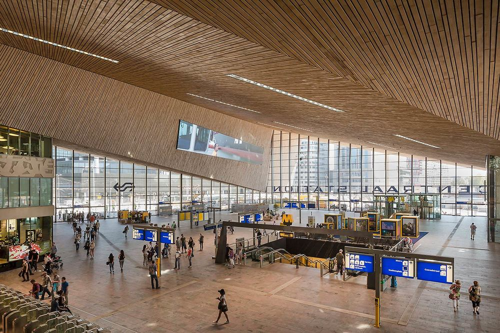 Central Station Rotterdam | CROSS Architecture
