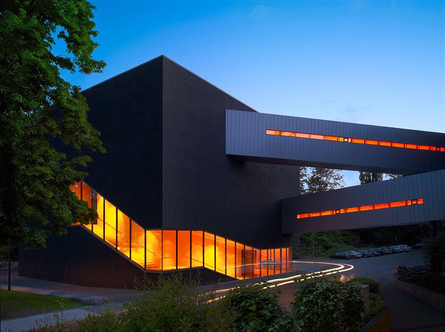 ....Extension of Deutsches Bergbau-Museum (German Mining Museum)..Bergbaumuseum Bochum....