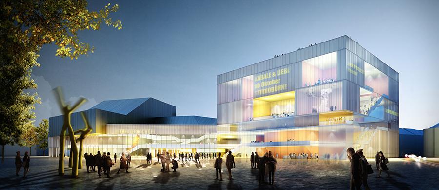 ....Karlsruhe State Theatre..Staatstheater Karlsruhe....