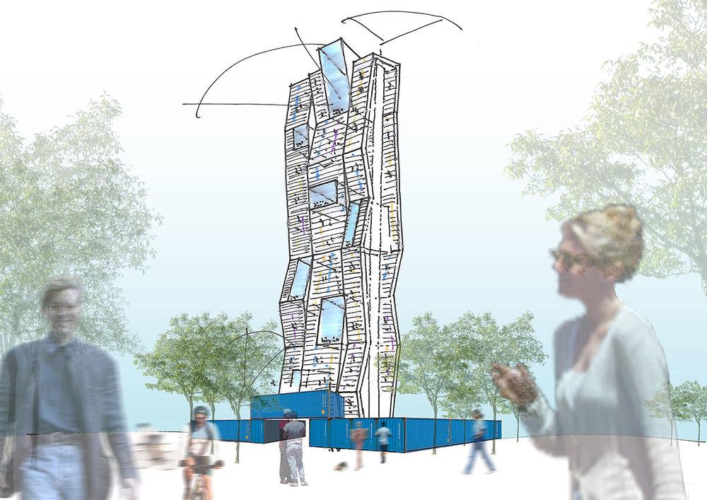 Kletterturm Köln | CROSS Architecture