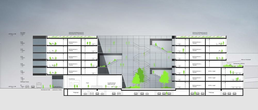 Stadtwerke Wolfsburg | CROSS Architecture