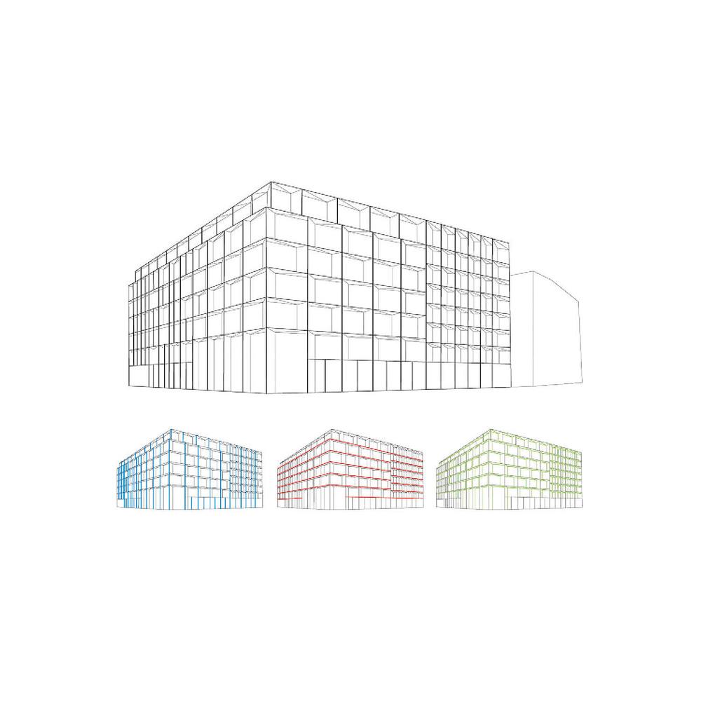 ....Facade Design..Fassade Entwurf....