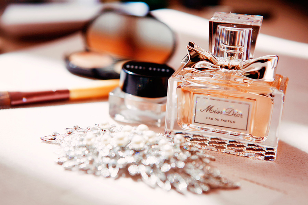 perfume and make-up