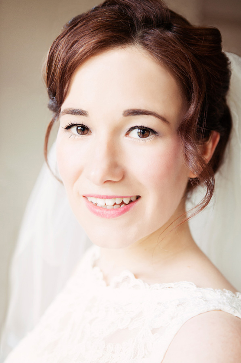 bridal portrait Edinburgh