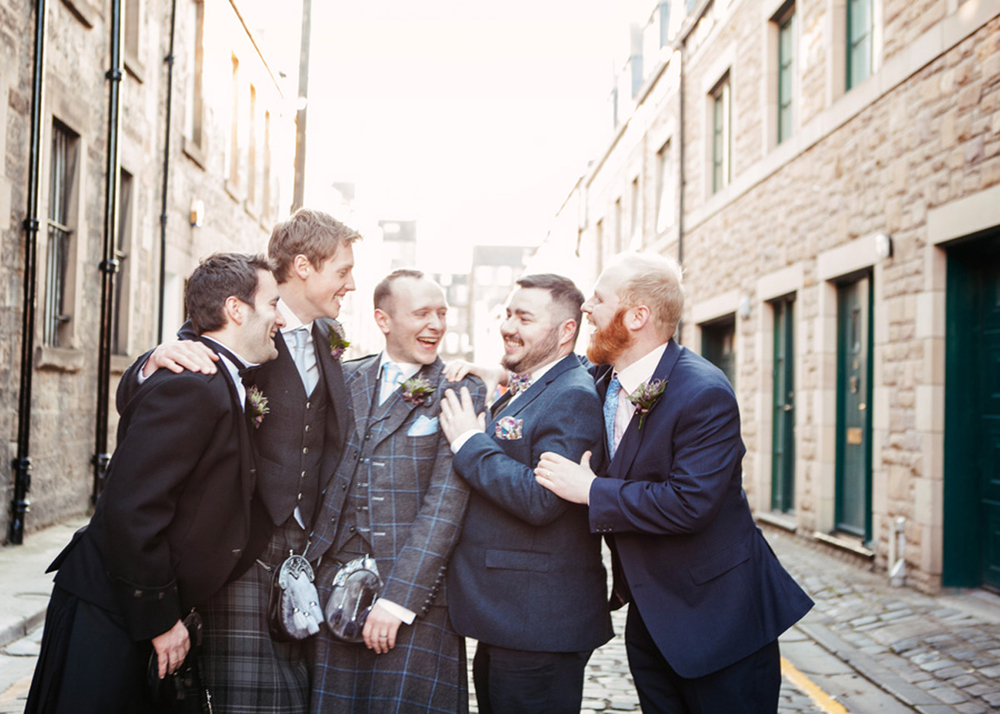 Groom in Edinburgh