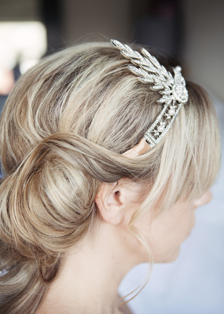 bridal hair London