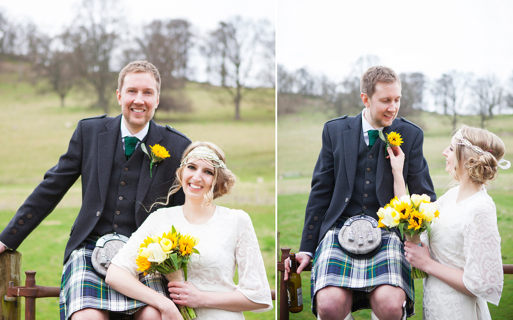 Highland wedding photography