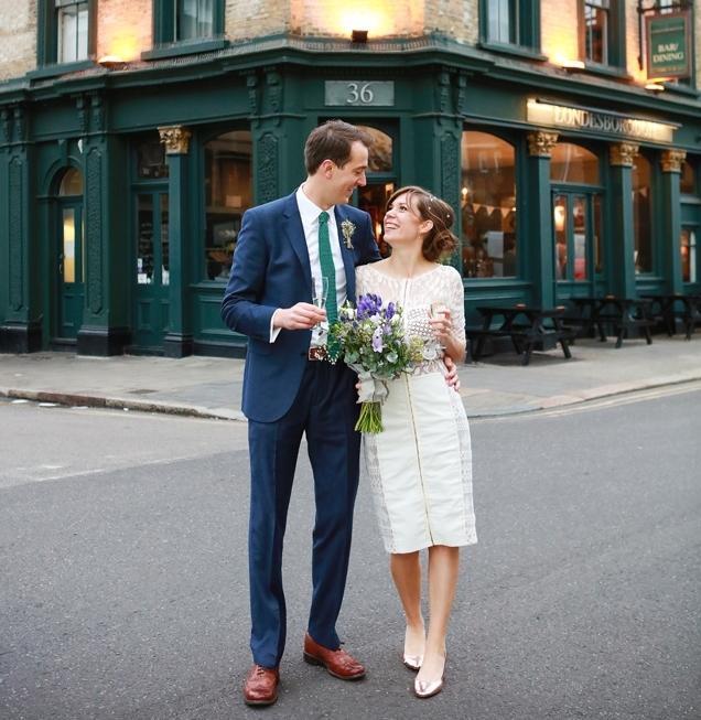 London registry pub wedding