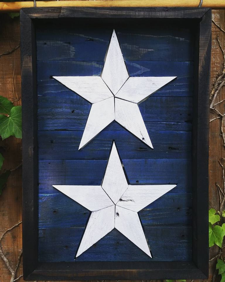 Commemorative USAF 2-Star General Retirement Placard