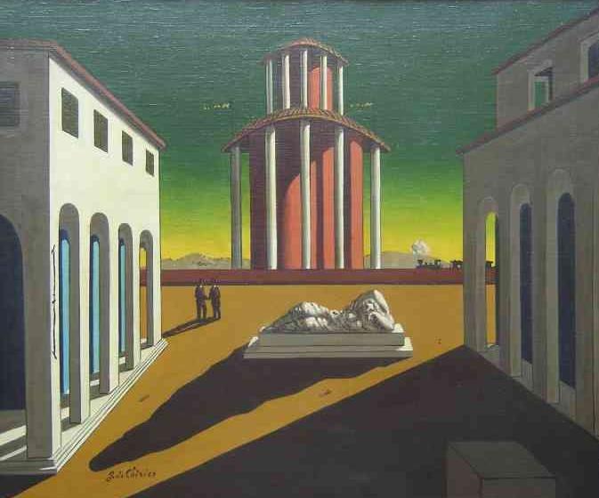 Girogio de Chirico, Piazza d'Italia. 1946-1950