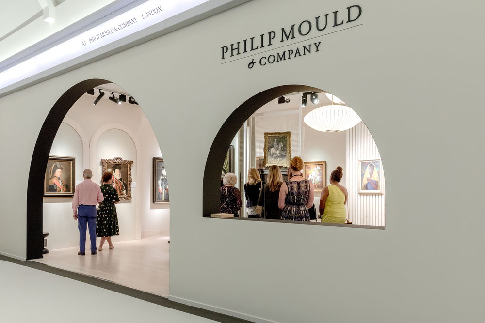 Inside the Philip Mould & Company building