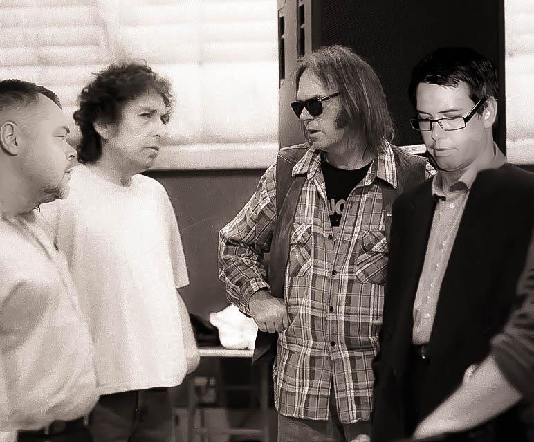 En kväll med Dylan, Young, Frank & Jonas -
