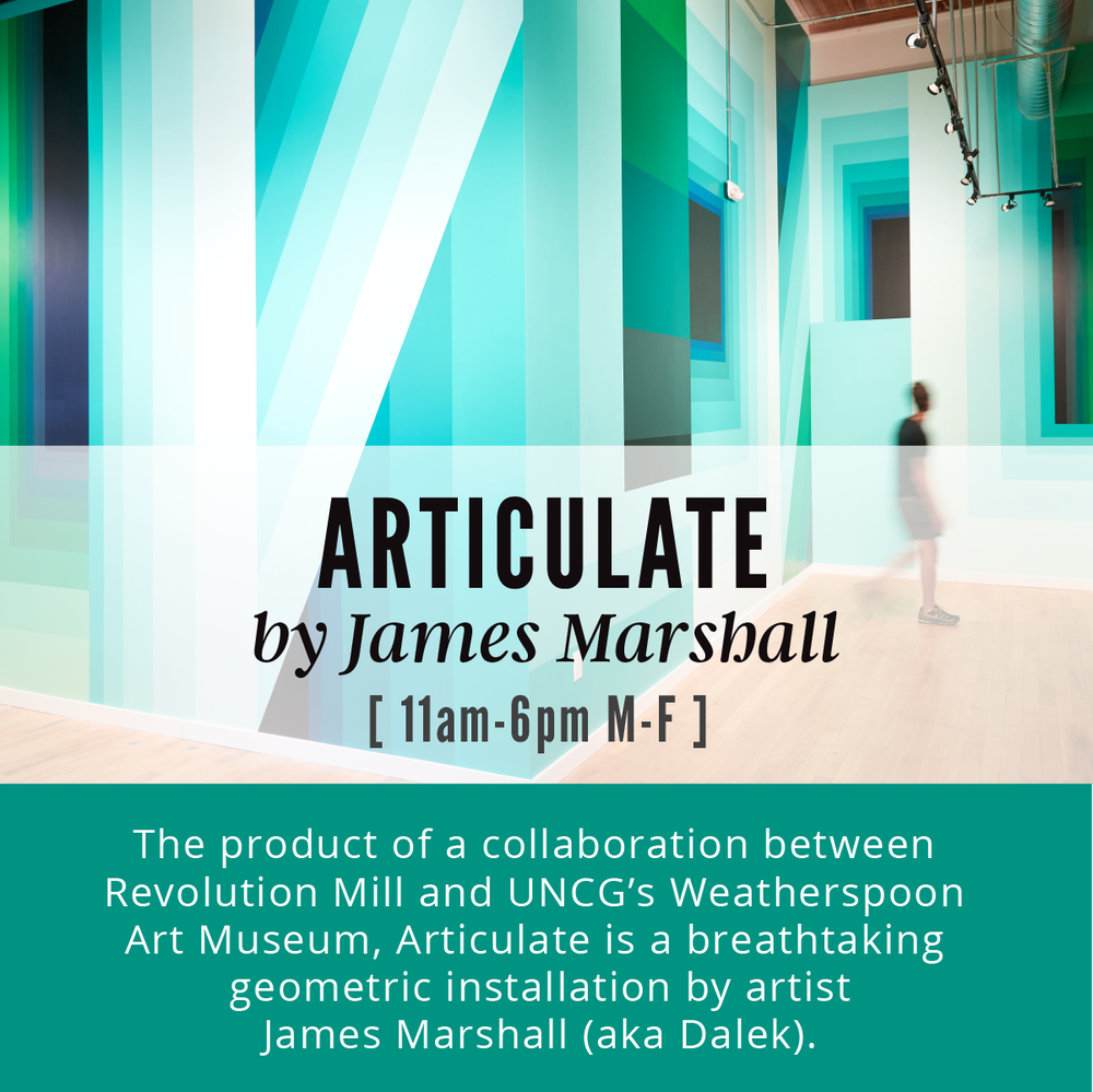 Articulate by James Marshall  |  Revolution Mill