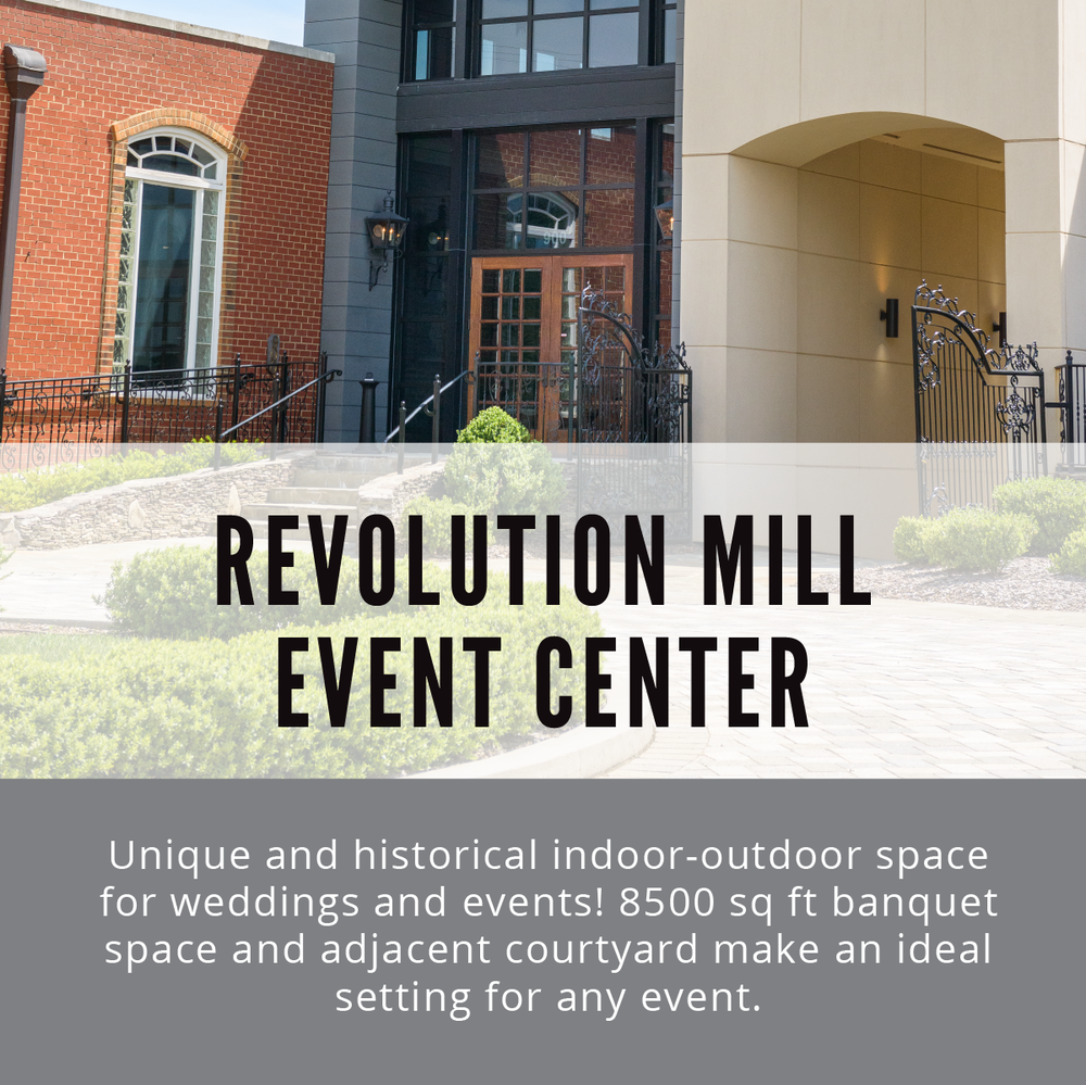 Revolution Mill Event Center  |  Revolution Mill