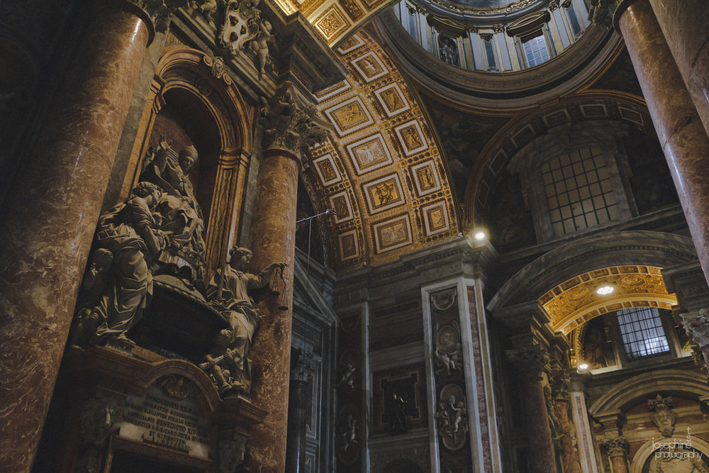 St. Peter's Basilica. So much grandeur in one spot. Click the photo above for the full Flickr album.