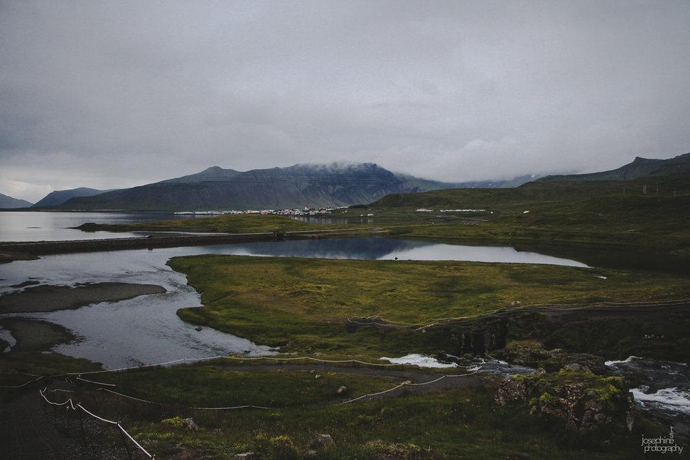Snæfellsnes Peninsula, Kirkjufell.
