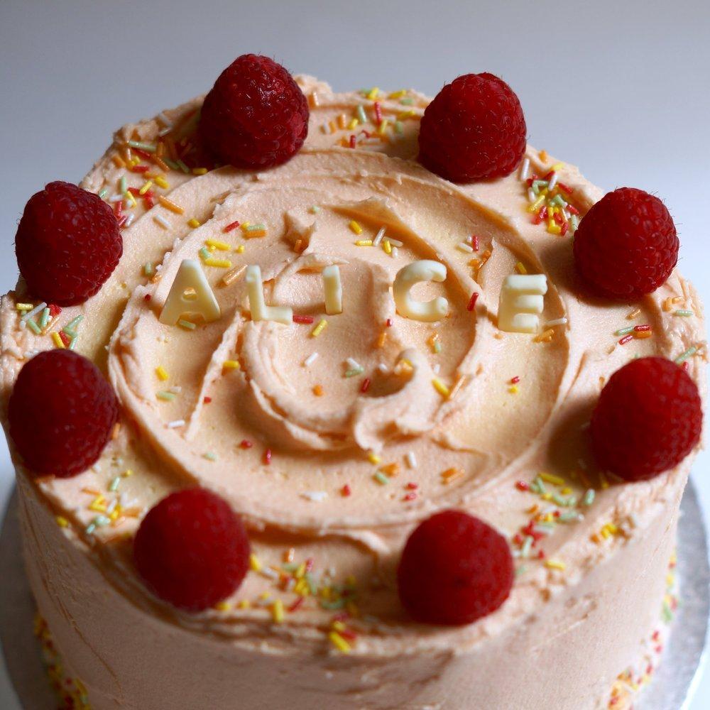 trifle cake detail