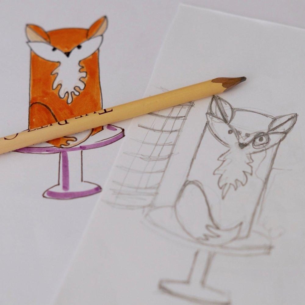 Design- Filbert fox