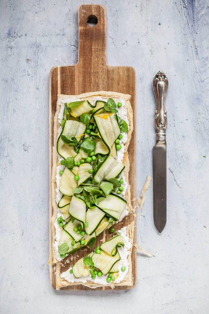 ricotta, lemon & spring vegetable tart.jpg