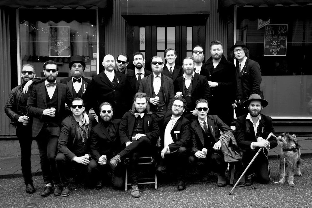 Bartónar, Male choir of Kaffibarinn Reykjavík