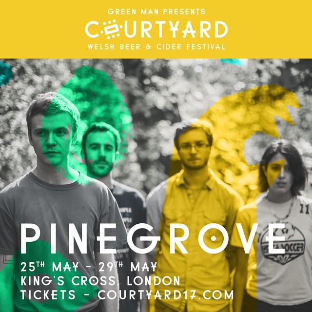 One of the great successes of the past twelve months, New Jersey's Pinegrove have been working away for a number of years before success finally found them. A wholesome, emphatically endearing country-rock outfit, their heart on sleeve sentiments are matched by a live show that leaves nothing left on the stage!! They kick things off on Thursday 25th May. We can't wait! 🍻x
