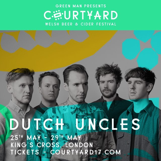 A shining light of the alt-pop world, Marple's finest @Dutchuncles will light up King's Cross on Friday 26th May. Their energetic live show will have us all shape shifting all over the floor! 🍻Tickets on sale now! x