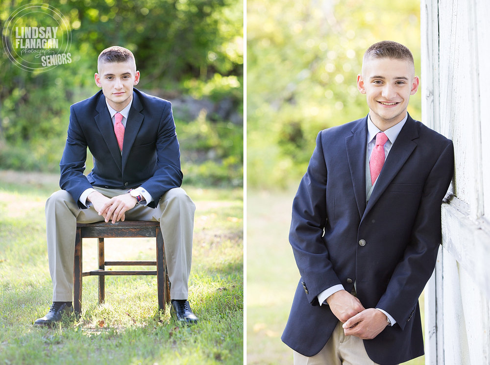 Bow High School New Hampshire Senior Portrait Photographer