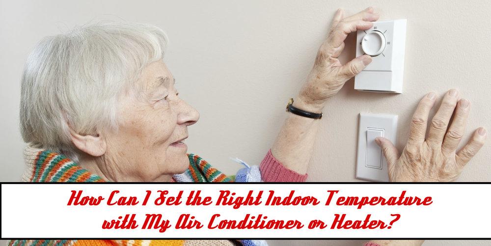 indoor air temperatures