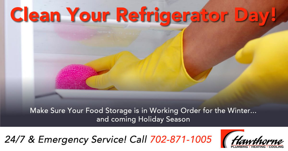 Clean Your Refrigerator Day!