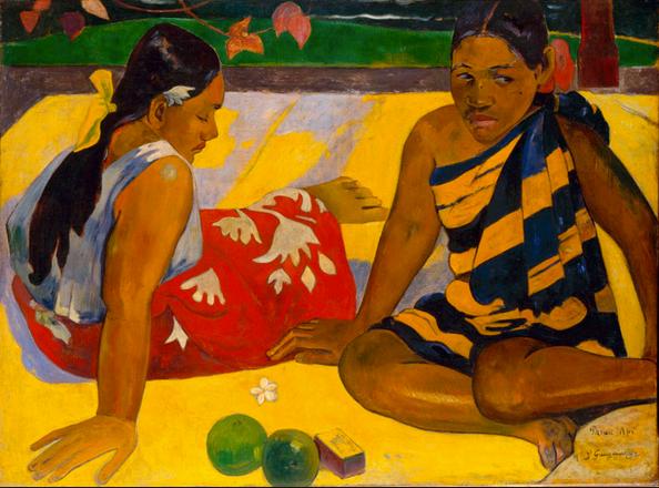 'Tahitian Women on The Beach', 1891