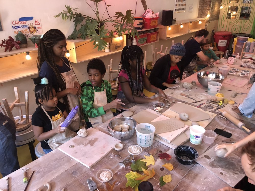 Free Community Clay Days -