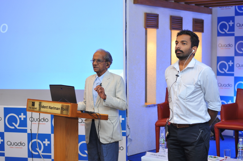 Q+ app users, Mr Gopal Deshpande and Pranav Bobde describe their experiences with Q+ the app