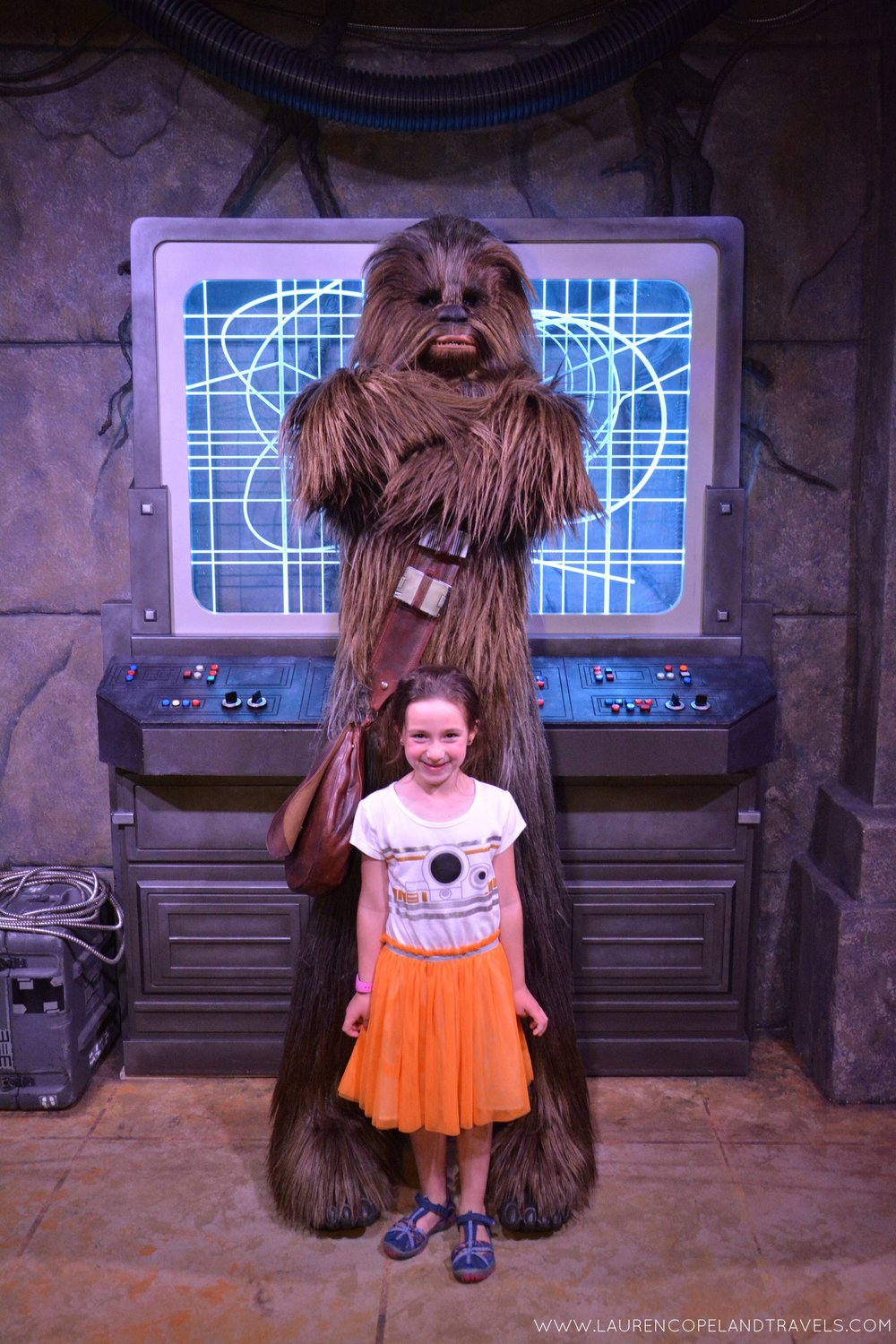 My daughter meeting Chewy for the first time!