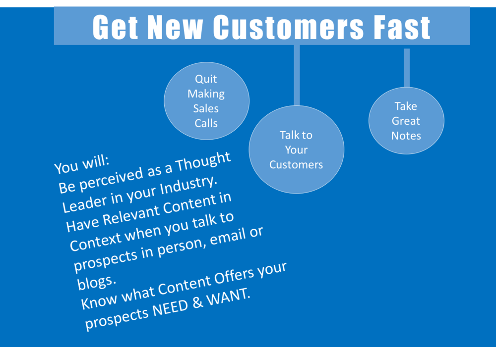 3 things to do to get new customers quickly analytics that profit