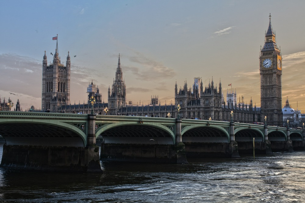 View of Westminster on the Thames