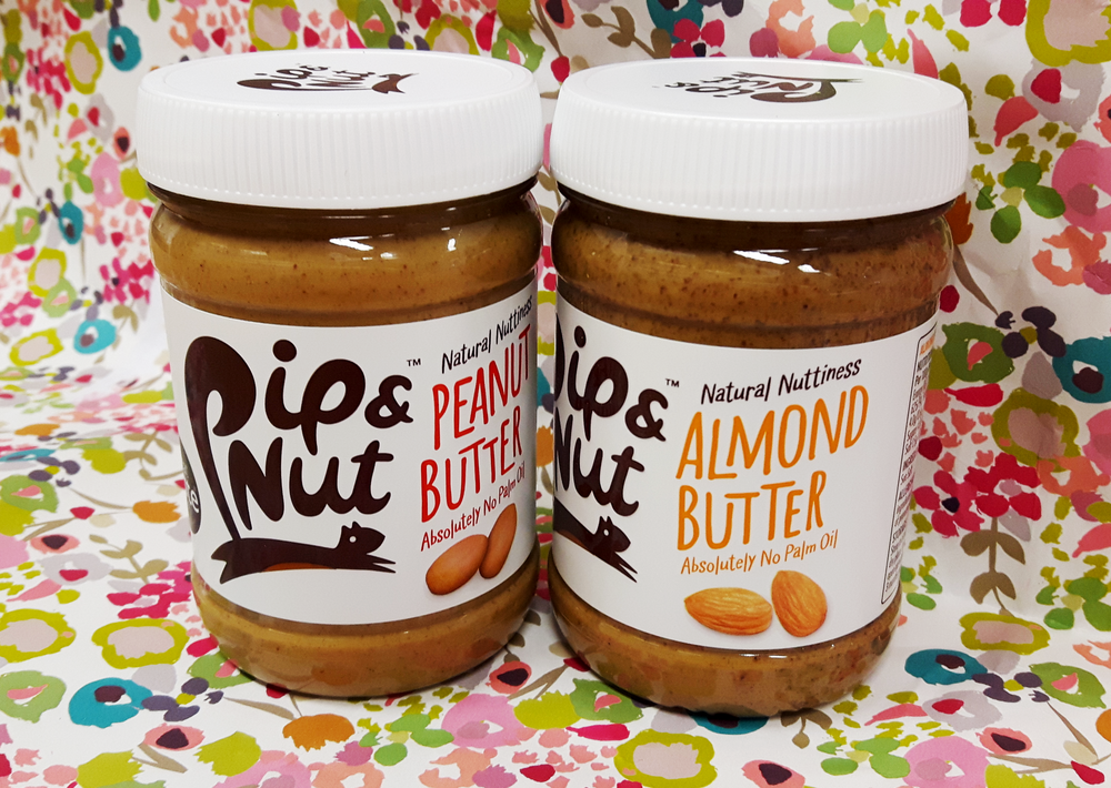 Pip and Nut Peanut and Almond Butter