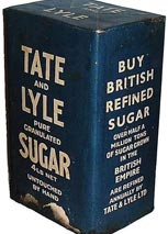 1930s Tate and Lyle Sugar packaging