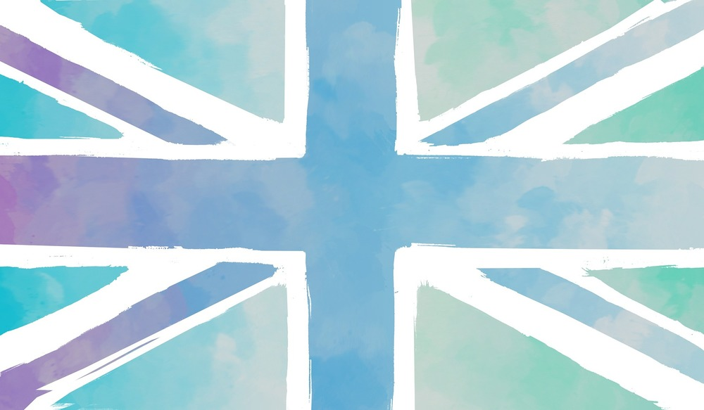 Watercolour British Flag