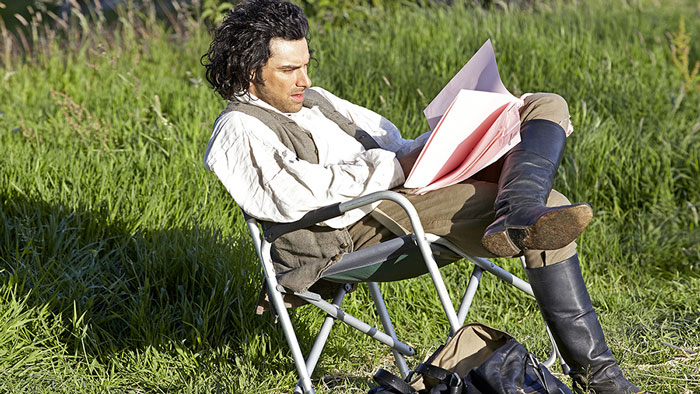 Poldark reading