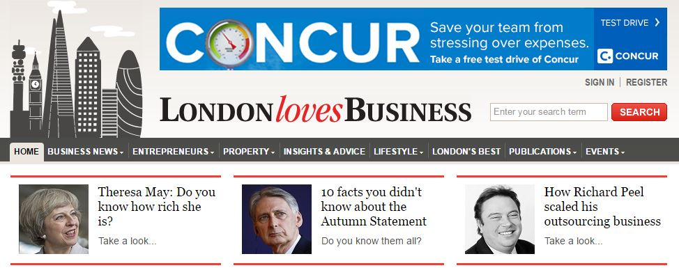 London Loves Business Feature