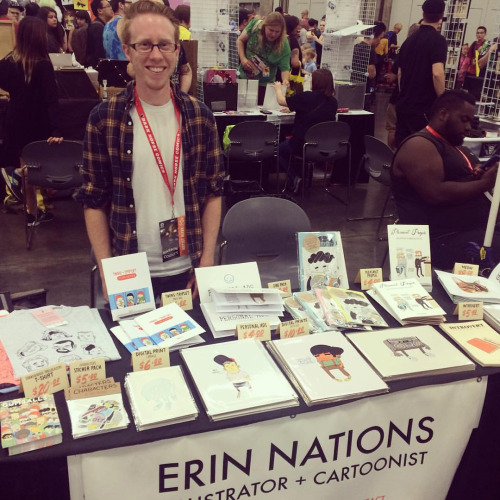 EUZINE FEST (NOV 01 2016) ARTIST INTERVIEW - ERIN NATIONS BY THE EUZINE TEAM