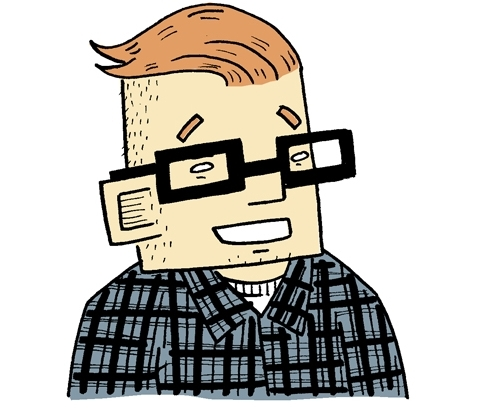 FTM MAGAZINE (OCT 31 2016) SEE HOW ERIN NATIONS USES CARTOONS TO DOCUMENT HIS TRANSITION BY JASON ROBERT BALLARD
